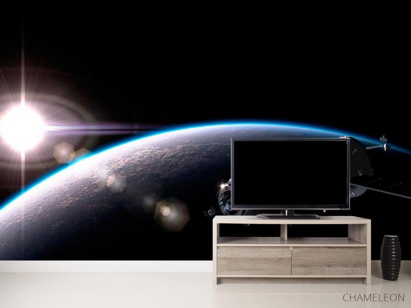 Фотообои Спутник и планеты - 2