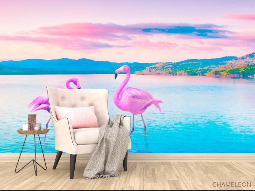 Фотообои Фламинго - 4