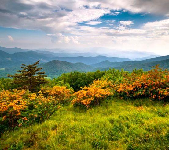 Фотообои Дикое дыхание, горы 9218