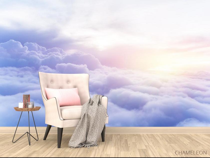Фотообои пушистые облака - 4