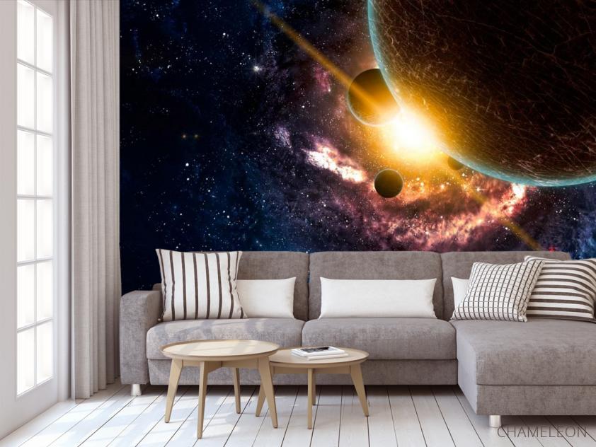 Фотообои Галактика и планеты - 3