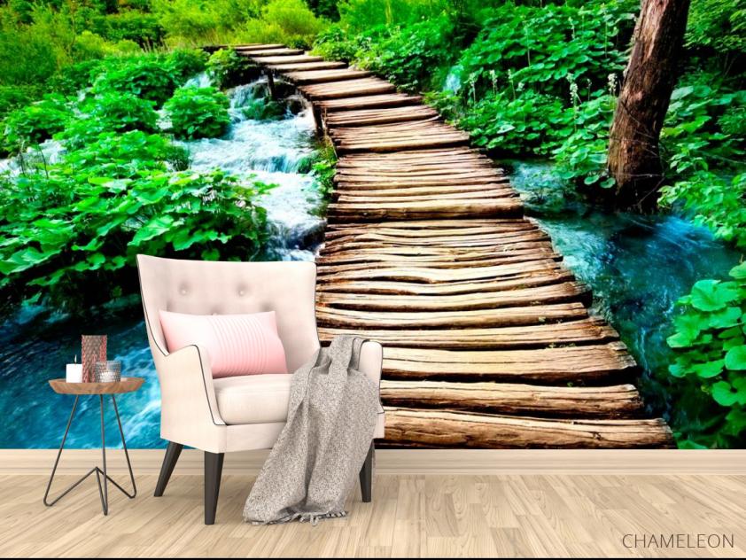 Фотообои Вода и мост - 4