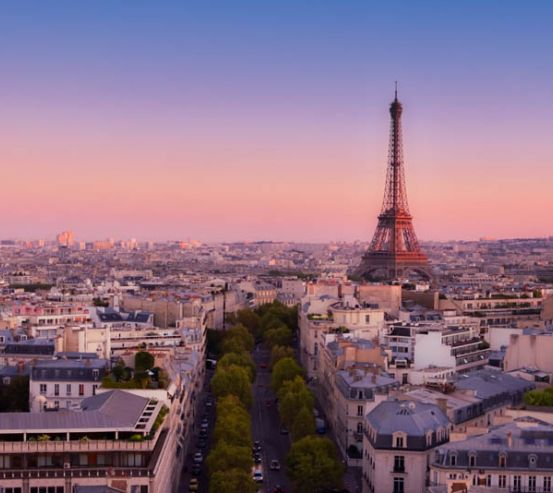 Фотообои Париж 25147