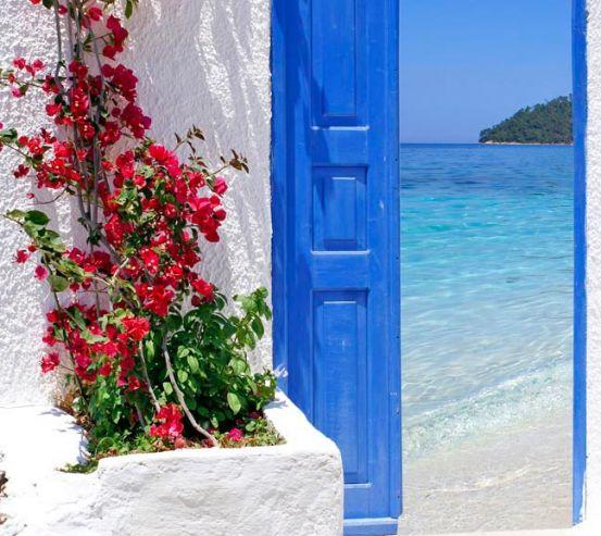 Двері з видом на море 5119