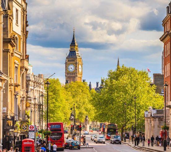 Фотообои дорога в Лондоне 20533