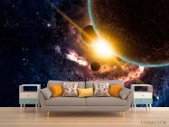 Фотообои Галактика и планеты - 1