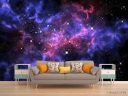 Фотообои сияние звёзд в космосе - 1