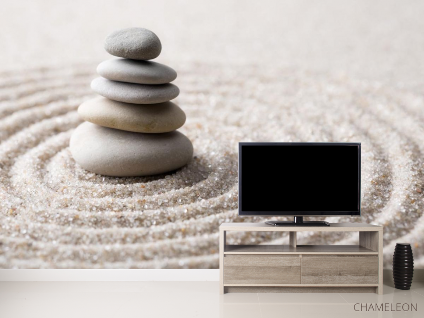Фотообои камни на песке - 2