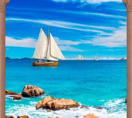 Фотообои Арка, море 13616