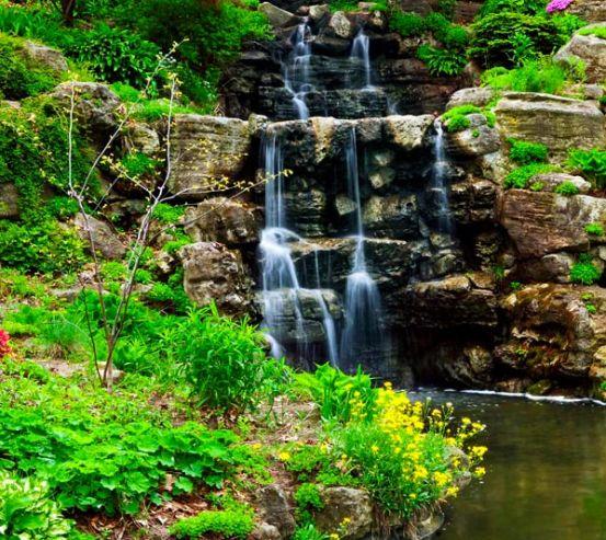 Фотообои Водопад 1610