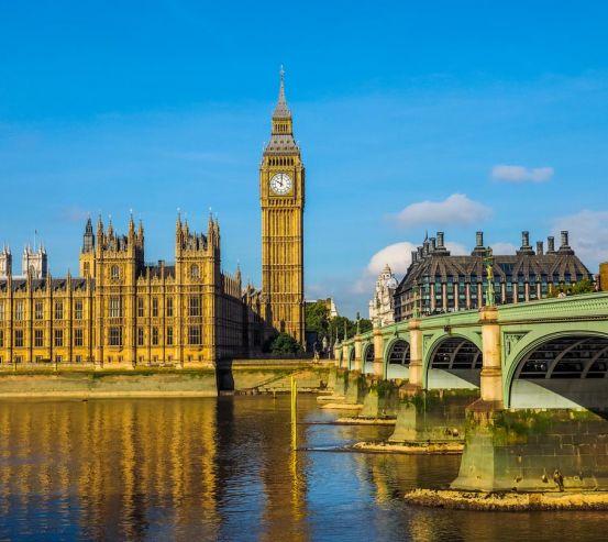 Фотообои яркий Лондон над Темзой 21495