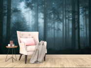 Фотообои темный лес - 4