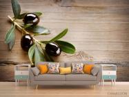 Фотообои оливковая веточка - 1
