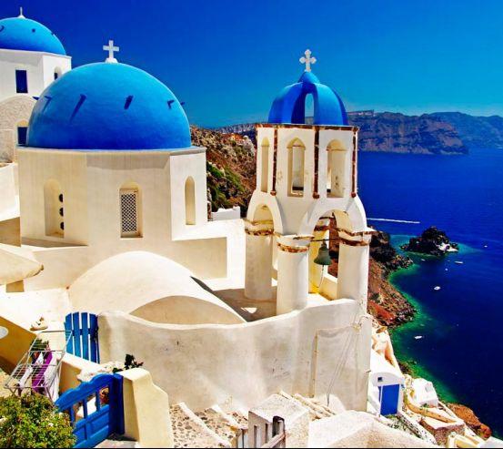 Фотообои Греция 4141