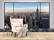 Фотообои Вид из окна, город - 4
