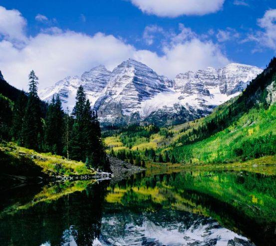 Фотообои Отражение в воде 0389