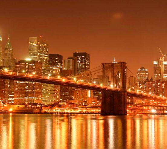 Фотообои Зачарованный  Бруклинский мост 8547