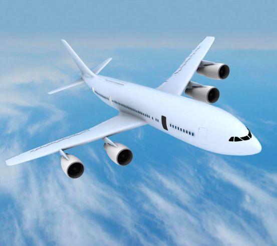 Фотообои Самолет в облаках 5018