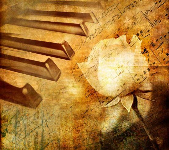 Клавіші та троянда 4613