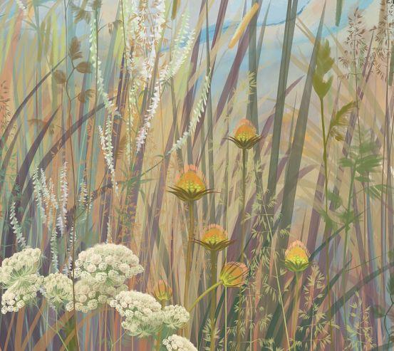 Фотообои Векторные растения 19976