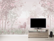 Фотообои Розовые единороги - 2