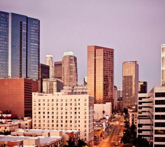 Фотообои Город в ожидании 9180