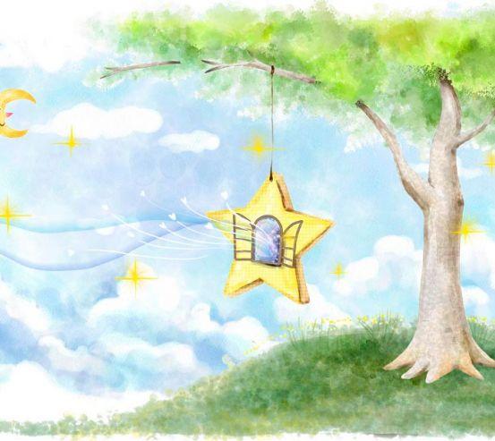 Фотообои Сказачное дерево 2287
