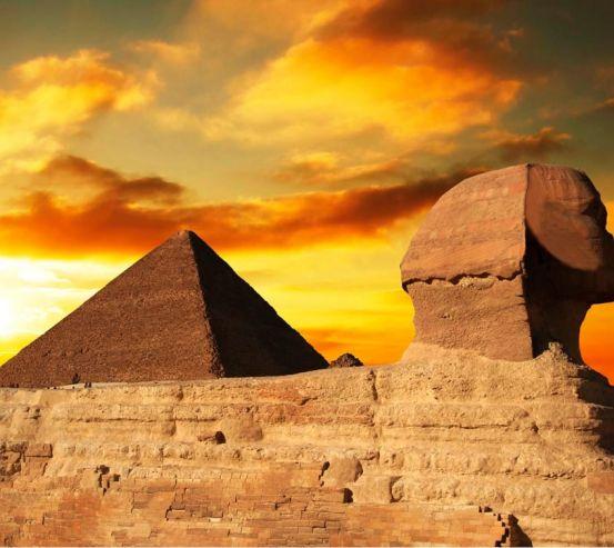 Фотообои Египетские пирамиды 3049