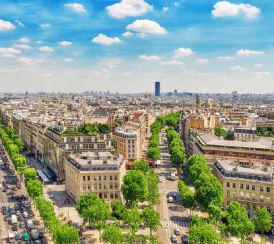 Фотообои улицы Парижа 21134