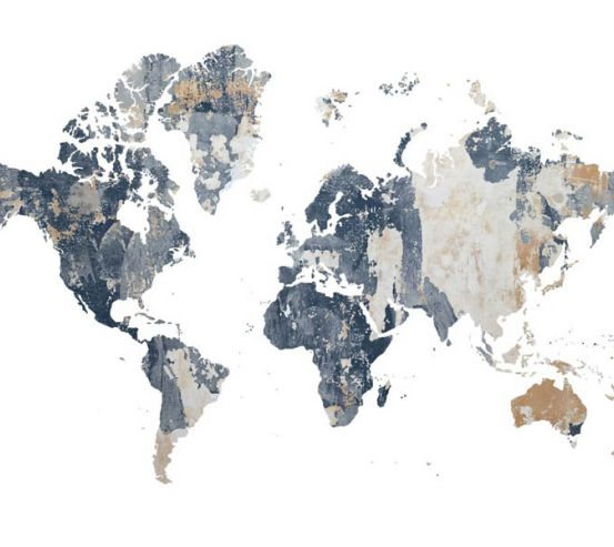 Фотошпалери Карта світу з фону 28187