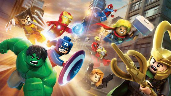 Фотообои Лего герои
