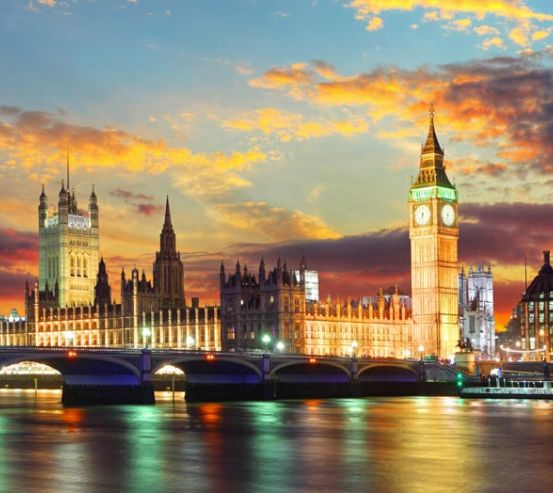 Фотообои вечерний Лондон 20709