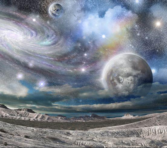 Фотообои Космос вблизи 26462