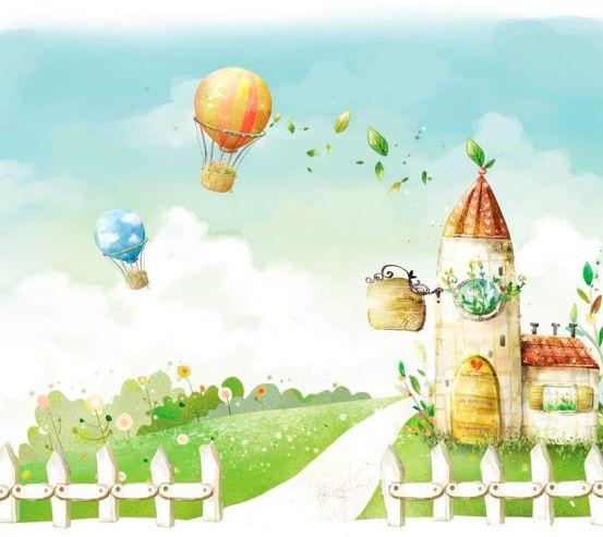 Фотообои Воздушные шары 7898