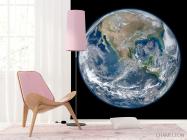 Фотообои планета Земля на черном фоне - 4