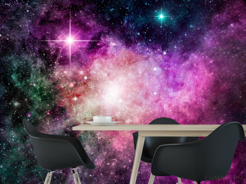 Фіолетова туманність - 1