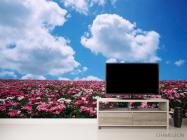 Фотообои Цветы, небо, тучи - 2