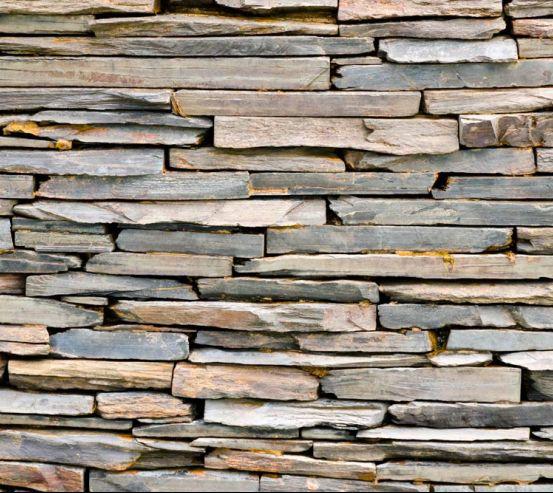 Фотообои Стена из деревянных блоков 11244