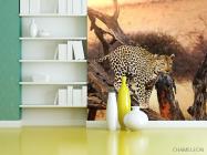 Фотообои леопард на ветке - 3