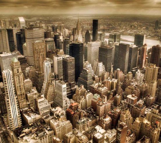 Фотообои Гонконг с высоты 0016