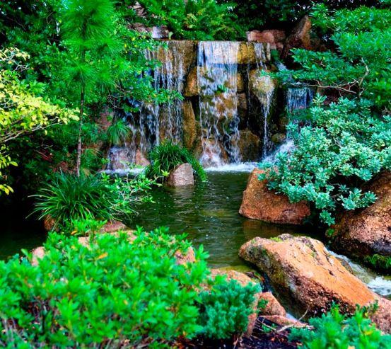Фотообои Водопад, ручей 1440