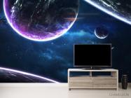 Фотообои сияние планет - 2