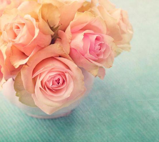 Фотообои Кремовых роз букет 9691