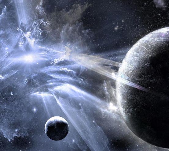 Фотообои Планеты в космосе 0748