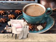 Фотообои кофе - 4