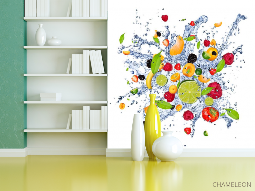 Фотообои фрукты и вода - 3