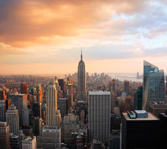 Фотообои Город Нью-Йорк с высоты  0021