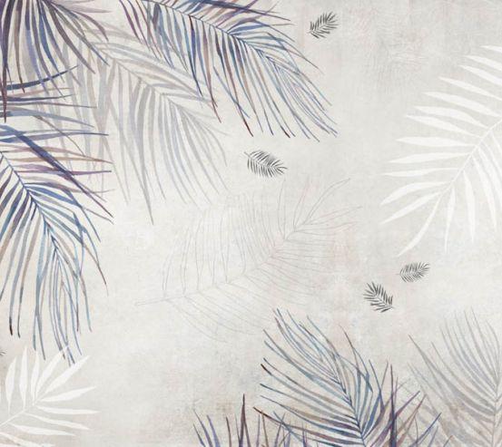 Фотошпалери гілки Пальми векторні 27849