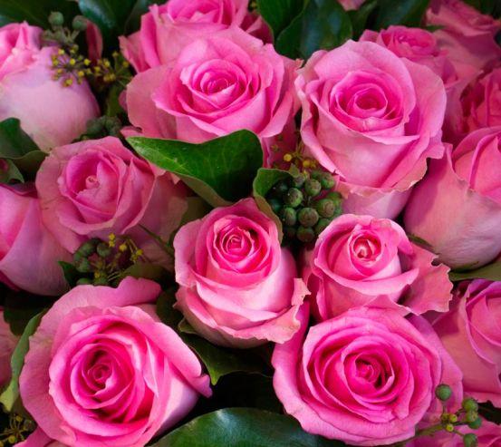 Фотообои Букет розовых роз 9948