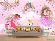 Фотообои Принцессы для девочки - 1
